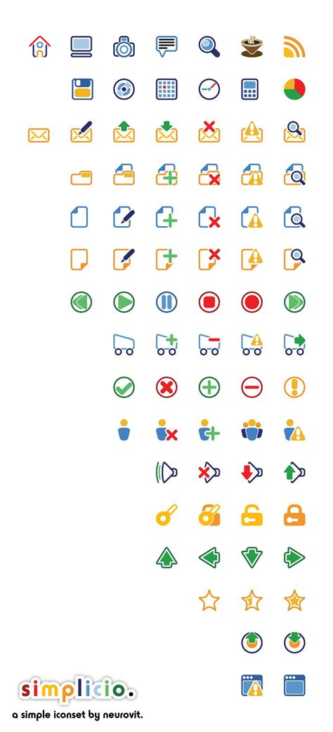55 High Quality Sets With Free Desktop Icons — Smashing