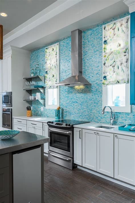 turquoise kitchen tiles 1000 images about cool kitchens on islands 2970