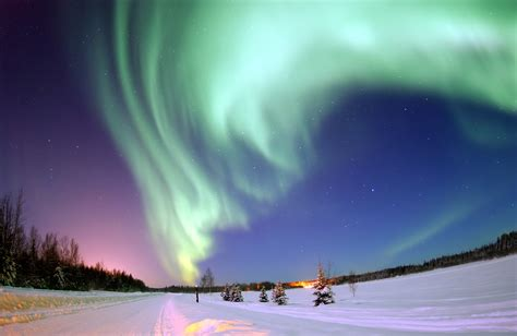 where are the northern lights the seven wonders of the world