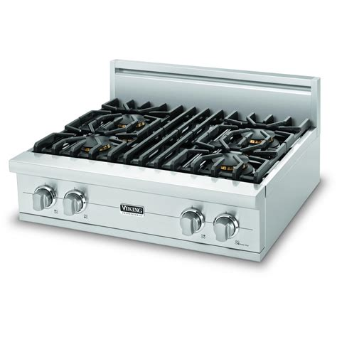viking gas cooktop viking vgrt530 4b 30 inch professional series gas