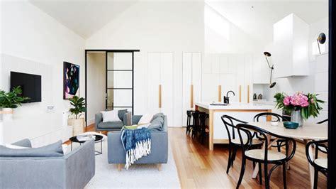 amenagement sejour cuisine aménagement séjour moderne 15 idées pour petits et