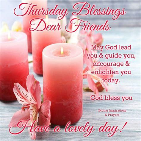Thursday Blessings Dear Friends Pictures, Photos, and