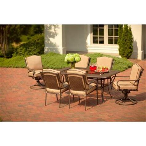 martha stewart living mallorca 7 patio dining set