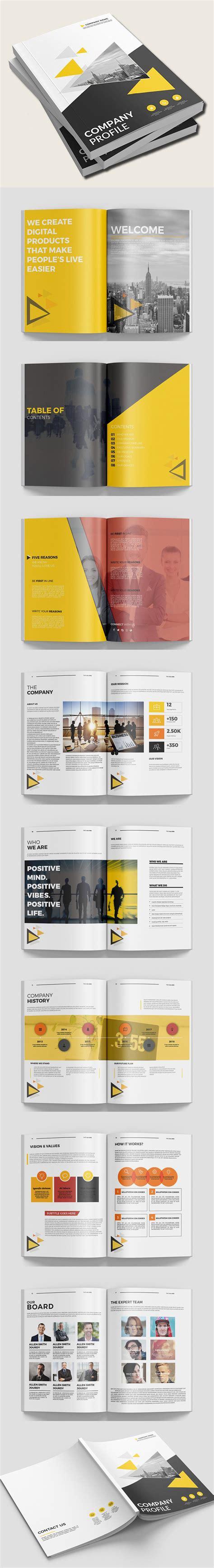 Company Profile Brochure Template Best Business Brochure Templates Design Graphic Design