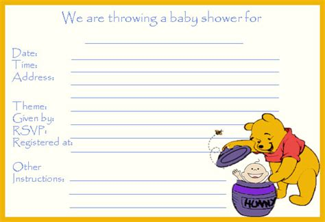 printable baby shower invitation  save  money