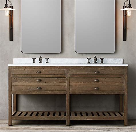 printmakers double vanity sink