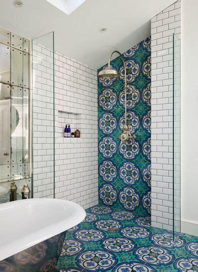 Marokkanische Fliesen Bad by Stunning Bathroom With White Subway Tile
