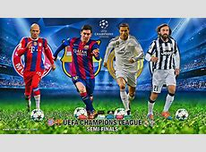 UEFA CHAMPIONS LEAGUE SEMIFINALS 2015 by jafarjeef on