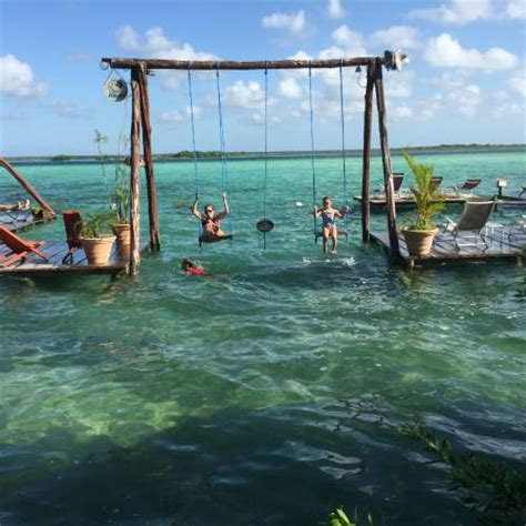 swing sets swing laguna bacalar picture of los aluxes bacalar