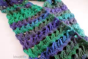 Free Broom Stick Lace Crochet Scarf Pattern
