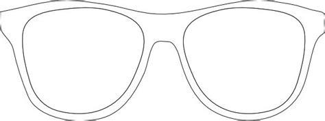 Printable Glasses Template