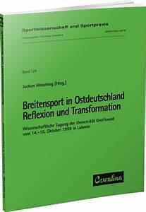 Breitensport In Ostdeutschland  U2013 Reflexion Und