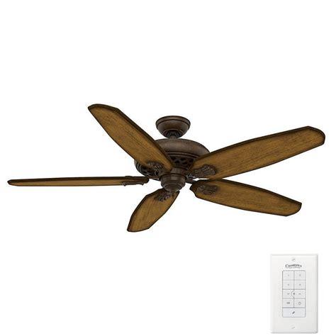 casablanca ceiling fan remote casablanca fellini 60 in indoor provence crackle bronze