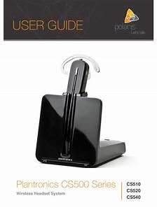 Plantronics Cs510 User Manual Pdf Download