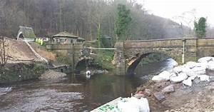 Flood-damaged Calderdale bridge now completely dismantled ...