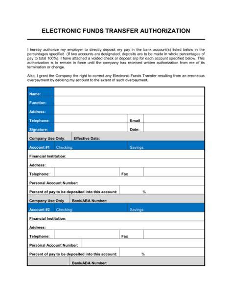 direct deposit form template word direct deposit enrollment form template sle form biztree
