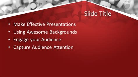 questions answers powerpoint template