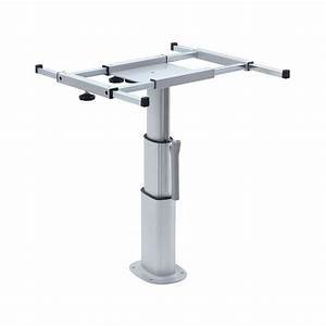 Pied De Table Reglable : table avec pied reglable en hauteur ~ Edinachiropracticcenter.com Idées de Décoration