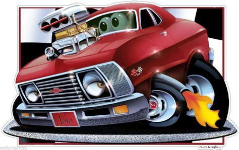 Db 72 Chevy Nova 350 Classic Cartoon Car And 21 Similar Items
