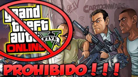 Causar estragos en la ciudad y no ser atrapado, suena divertido ¿verdad? GTA 5 Online El Juego Prohibido Por Violencia Contra La Mujer Grand Theft Auto V - YouTube