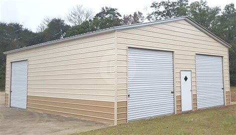 Metal Garages Prices - metal garages for sale enclosed side entry garage prices