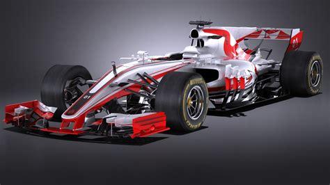 Formula 1 car 3D Models Download - Hum3D