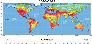 Warming leading to drought threatening much of planet ...