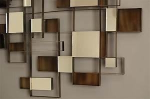 Nova angles wall art mirror