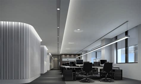office lighting design minimalist office interior design