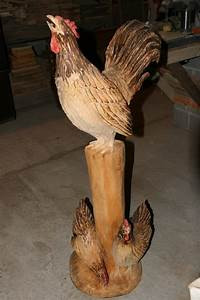 Chainsaw Carvings By Todd Gladfelter