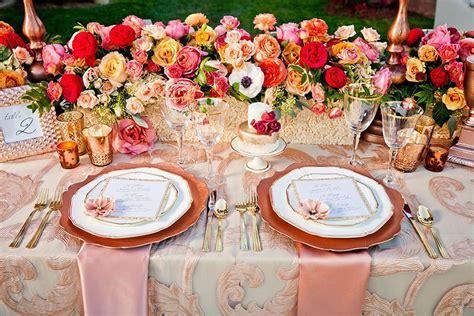 Rose Gold Wedding Inspiration Nüage Designs