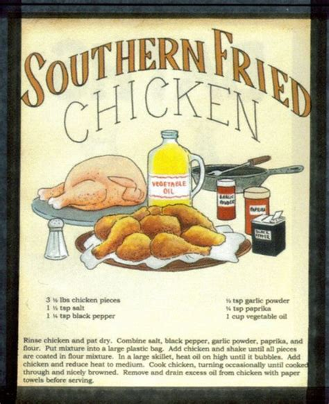 country kitchen recipes retro vintage primitive chicken sign country kitchen wood 2868