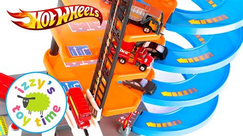 Fast Parking Garage by Wheels And Fast Parking Garage Elevator Playset