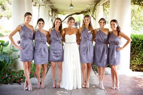 Bridesmaid's Dresses From Banana Republic. Wedding Gown
