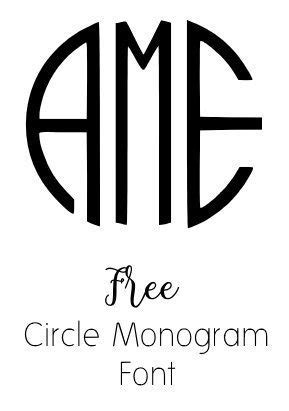 Free Monogram Fonts - download or use with our free