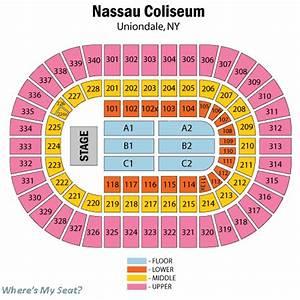 Coliseum Seating Chart - Nassau veterans memorial coliseum ...