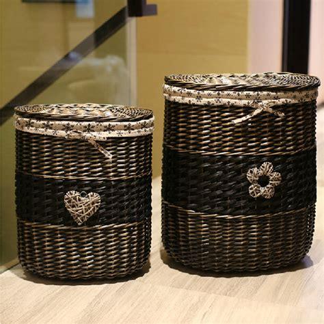 large storage basket with lid wicker storage baskets with lids best storage design 2017