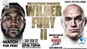 Tyson Fury Vs Wilder 2