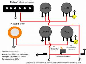 Acoustic  Electric Stereo  Mono Wiring  U2014 Weasyl