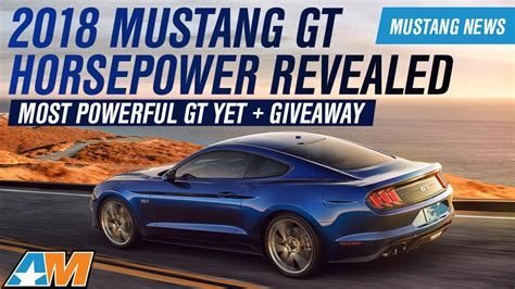 Ecoboost Mustang Specs 2018 Ford Mustang Gt Ecoboost Horsepower Torque And