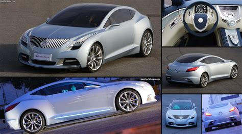 buick riviera concept coupe  pictures information
