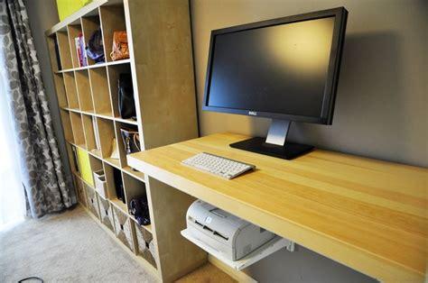 floating desk with storage ikea floating desk diy standing desk using ikea tornliden