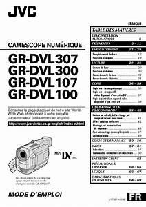 Notice Jvc Gr-dvl100