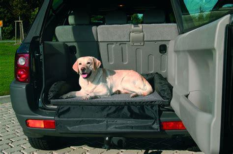 lit de coffre pour chien sp 233 cial transport 95 75cm gris noir