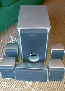 Sony 5 1 Surround Sound Speakers And Subwoofer