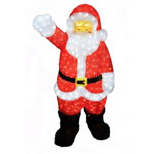 santa claus outdoor decorations images