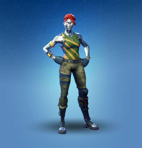 chromium fortnite outfit skin    details