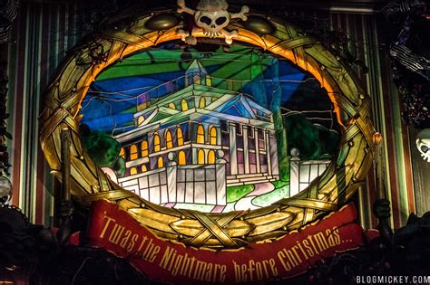 photos video haunted mansion holiday full ride through at disneyland blog mickey