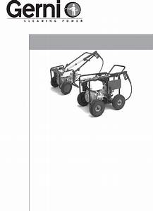 Gerni 118 P Pressure Washer Operating Manual Pdf View  Download