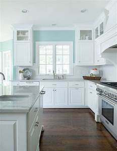 231 best sherwin williams 39reflecting pool39 images on With kitchen colors with white cabinets with hand drawn wall art